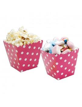 Sweet Box Fucsia a Pois (6 pz)