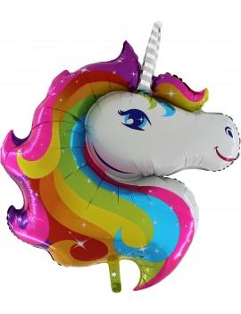 Palloncino Unicorno Rainbow in Mylar