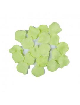 Petali Colore Verde Acido in Velluto