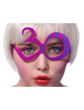 Occhiali Numero 30 Fucsia