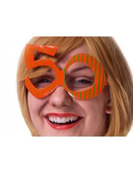 Occhiali Numero 50 Arancioni