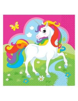 Tovaglioli di Carta Unicorno (20 pz)