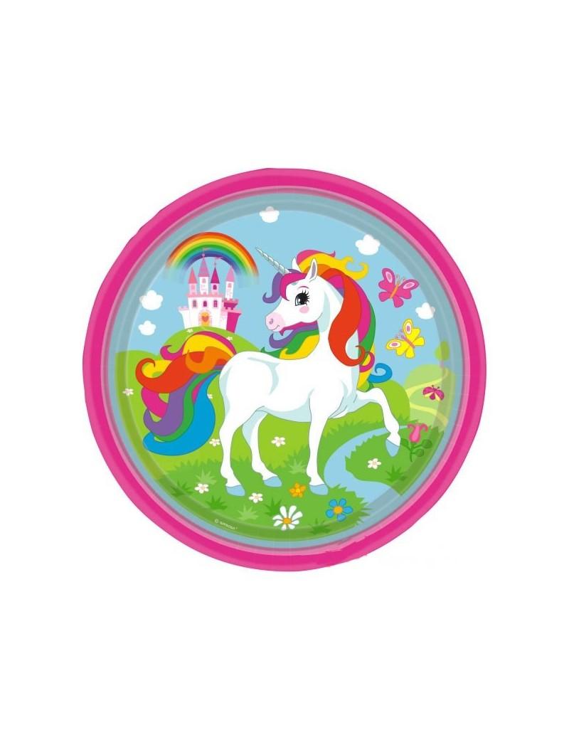 Piatti Unicorno da 23 cm