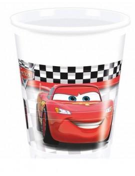 Bicchieri Cars da 200 ml (10 pz)
