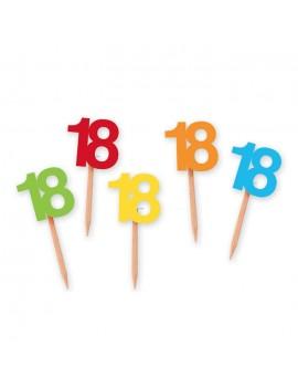 Picks Numeri 18 Multicolor