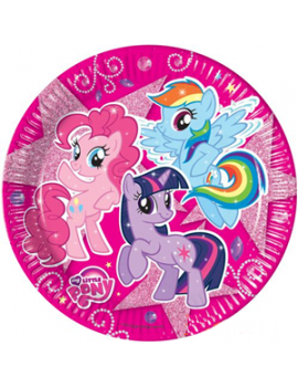 Piatti My Little Pony Fucsia da 23 cm