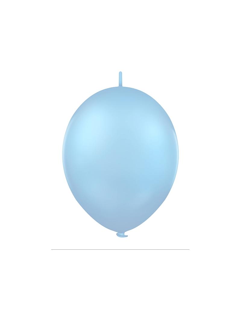 Palloncini Lattice Link Celeste