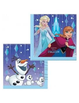 Tovaglioli di Carta Frozen Snowflakes (20 pz)