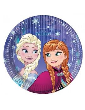 Piattini Frozen Snowflakes da 20 cm