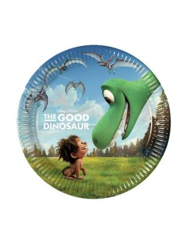 Piattini di Carta The Good Dinosaur da 20 cm
