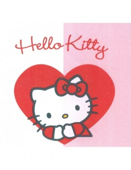 Tovaglioli di Carta Hello Kitty 33x33