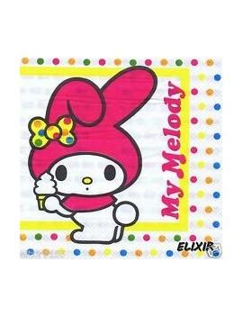 Tovaglioli di Carta My Melody 33x33