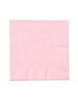 Tovaglioli di Carta Rosa 33x33