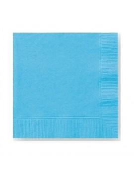 Tovaglioli di Carta Azzurri 33x33