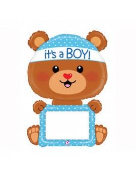 Palloncino Orsetto Blu It's a Boy