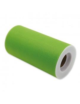 Tulle Colore Verde 12.5 cm x 25 m