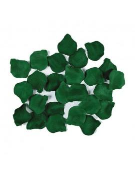 Petali Colore Verde Scuro in Velluto