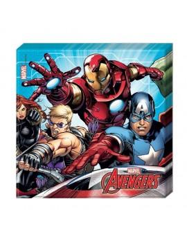 Tovaglioli di Carta Avengers Mighty (20 pz)