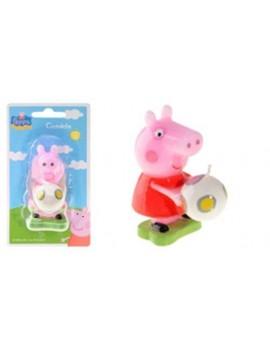 Candelina Sagomata Peppa Pig