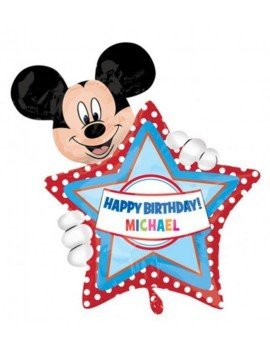 Palloncino SuperShape Mickey Mouse Personalizzabile