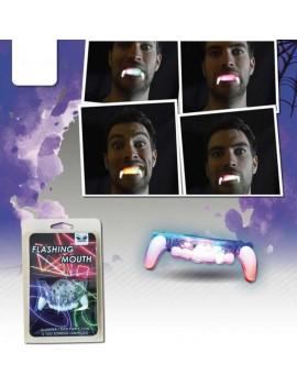 Dentiera Dracula con Luci