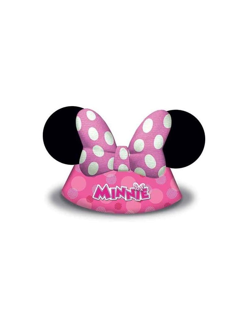 Cappellini di Carta Minnie Mouse Happy Helpers (6pz)
