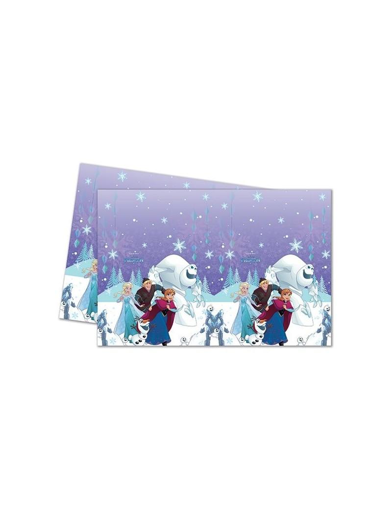 Tovaglia in Plastica Frozen Snowflakes (180x120)