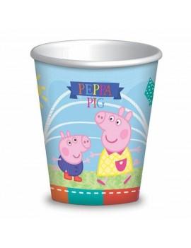 Bicchieri Peppa Pig da 200 ml (8 pz)