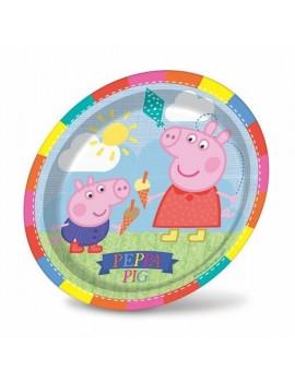Piatti Peppa Pig da 20 cm (8 pz)