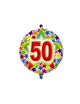 Palloncino Tondo Numero 50