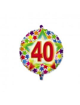 Palloncino Tondo Numero 40