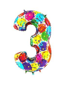 Palloncino Gigante Numero 3...