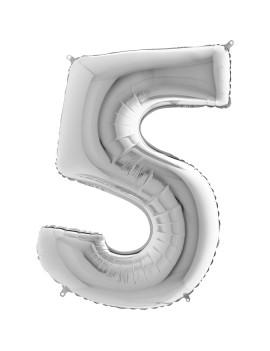 Palloncino Gigante Numero 5...