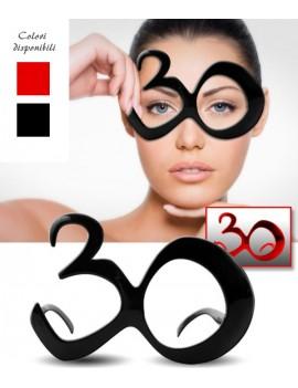 Occhiali Party Numero 30 -...