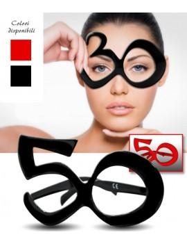 Occhiali Party Numero 50 -...