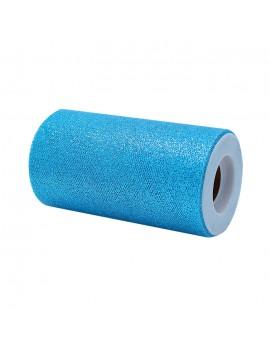 Tulle Glitter Azzurro 12,5...