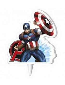 Candela Sagoma Capitan America - Avengers