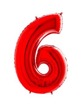 Palloncino Gigante Numero 6...