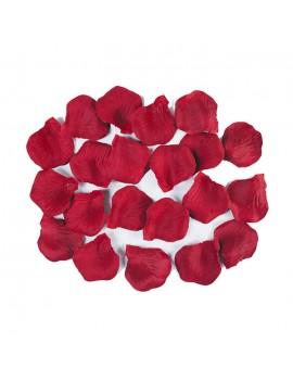 Petali Colore Rosso in Velluto