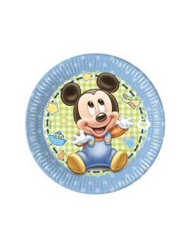 Piatti di Carta Baby Mickey...