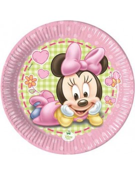 Piatti di Carta Baby Minnie...