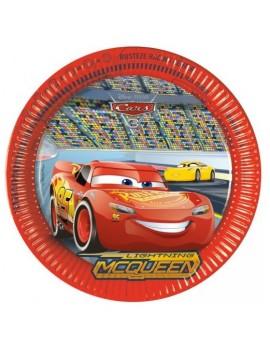 Piatti di Carta Cars 3 da...