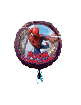 Palloncino Spiderman Tondo...