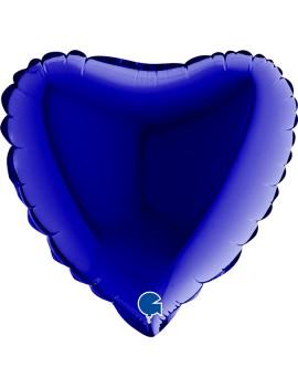 Palloncino Mini Cuore Blu...