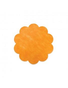 20 Margherite in TNT 35 cm Arancio