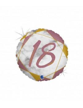 Palloncino Tondo Numero 18...