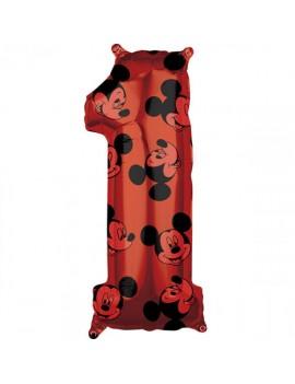 Palloncino Numero 1 Mickey...