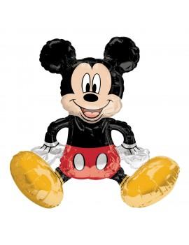 Palloncino Mickey Mouse Seduto