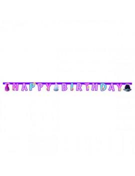 Festone Happy Birthday Trolls