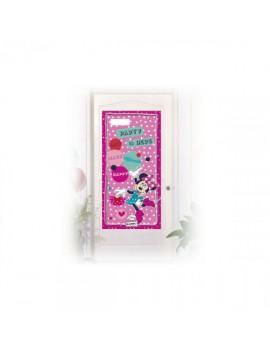 Copriporta Minnie Mouse Dots